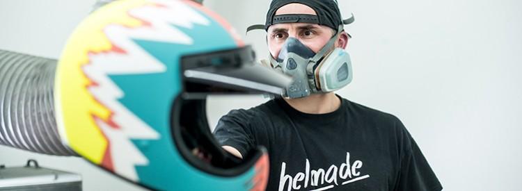 Individuelles Helmdesign für jedermann