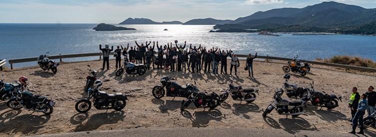 Motorradfreunde aus der ganzen Welt kennenlernen