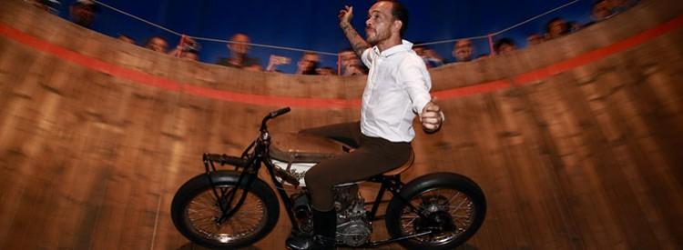 Motorrad-Happening an der französischen Atlantikküste