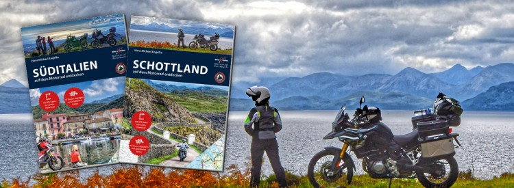 Neue Reiseführer Schottland und Süditalien