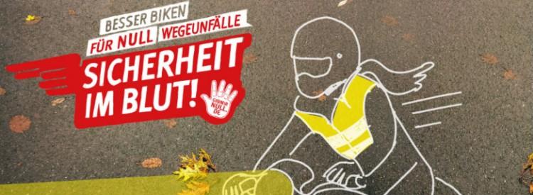Mit dem Motorrad sicher durch den Herbst