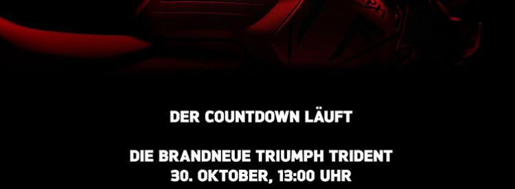 Online-Live-Präsentation der neuen Triump Trident